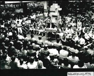Eröffnung Malwettberwerb 1978